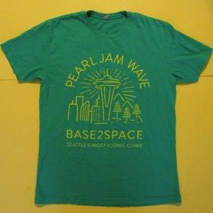 Other - Pearl Jam Wave Base2Space Rare Seattle T Shirt M